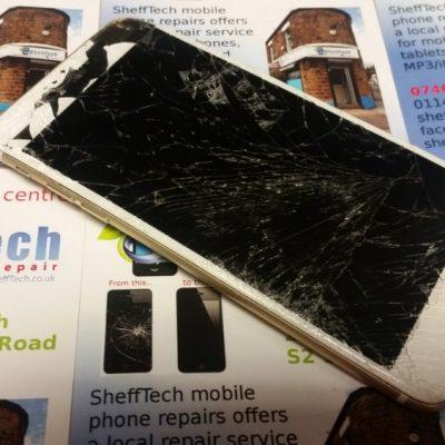 fix cracked iphone screen